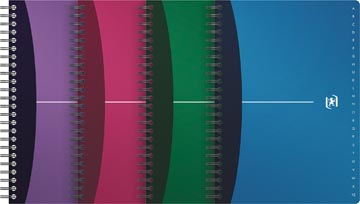 Oxford Indexboekje Office Urban Mix ft 14,8 x 21 cm (A5), geassorteerde kleuren