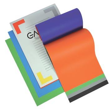 Gallery gekleurd tekenpapier Multicolor, ft 21 x 29,7 cm (A4), 120 g/m², blok van 20 vel