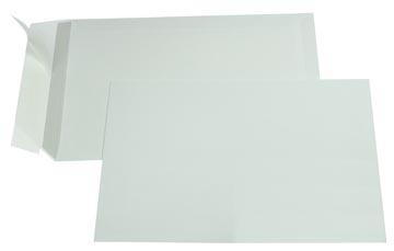 Gallery enveloppen ft 162 x 229 mm, stripsluiting, binnenzijde grijs, doos van 500 stuks