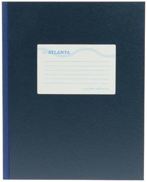 Atlanta by Jalema breedkwarto's 160 bladzijden, blauw