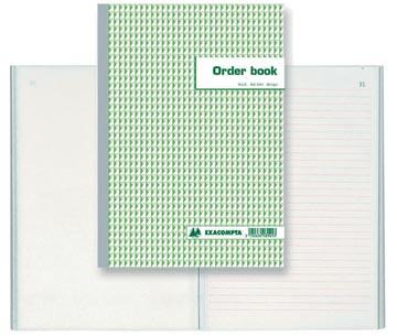 Exacompta orderbook, ft 29,7 x 21 cm, tripli (50 x 3 vel)