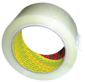 Scotch verpakkingstape 371, ft 50 mm x 66 m, transparant