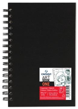 Canson schetsblok 'Art book One' 80 vellen 14 x 21,6 cm