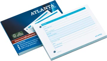 Atlanta by Jalema doorschrijfkwitantieblok verpakt per 5