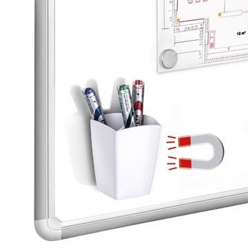 Gloss by CEP magnetisch pennenbakje, wit