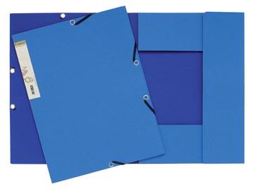 Exacompta elastomap Forever koningsblauw/donkerblauw