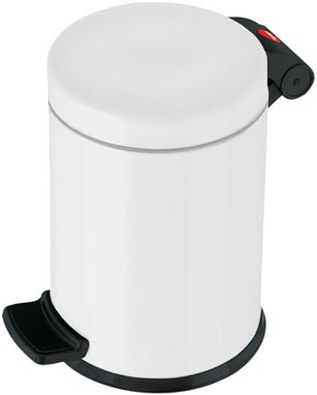 Hailo pedaalemmer voor sanitair, 4 L, wit