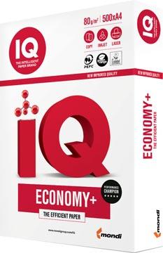 IQ Economy+ printpapier ft A4, 80 g, pak van 500 vel