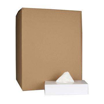 Tissues voor gezicht, 2-laags, 100 tissues per doos, pak van 36 doosjes