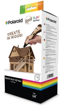 Polaroid 3D pen Root Play, in ophangdoos