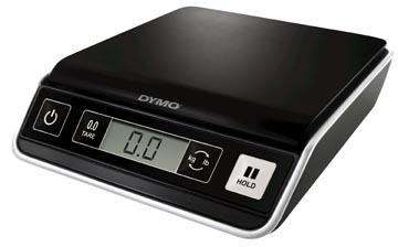 Dymo postweegschaal M2, weegt tot 2 kg, gewichtsinterval van 1 gram