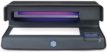 Safescan valsgelddetector 70, met UV valsgelddetectie, zwart
