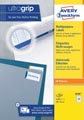 Avery Zweckform 3650, Universele etiketten, Ultragrip, wit, 100 vel, 52 per vel, ft 48 x 21 mm